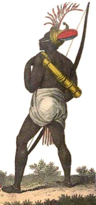 Bamana Empire - Bamana archer.