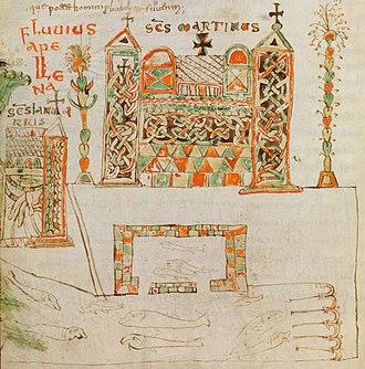 Cassiodorus - Image: Bamberg.Cassiodor Vivarium