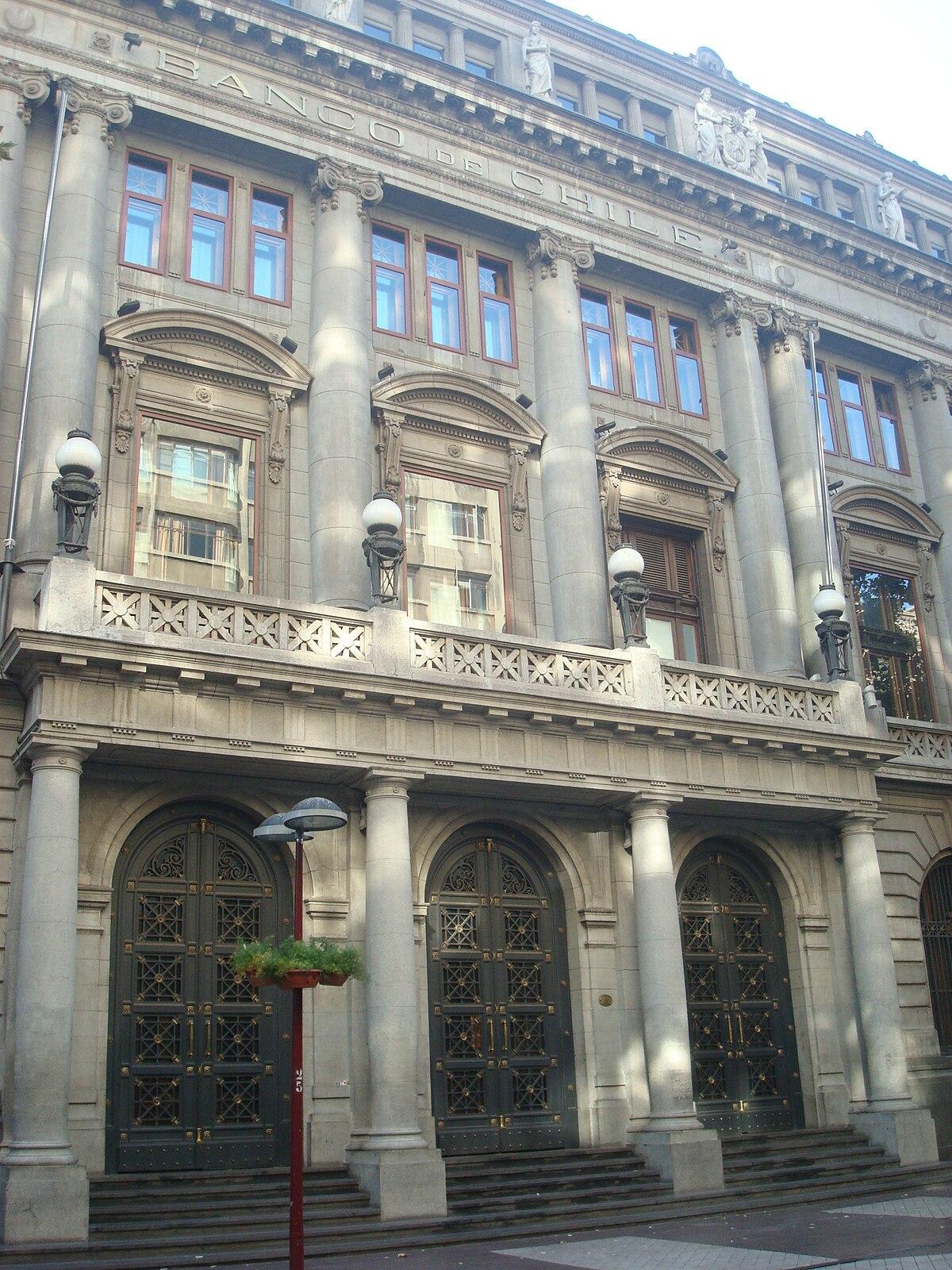 Banco de chile wikip dia - Casas de banco santander ...