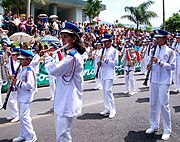 Banda Municipal de San Carlos en celebración del Día de la Cultura (1286732760) 2010-10-10 Quesada, Alajuela, Costa Rica.jpg