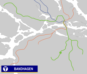 Bandhagen metro station