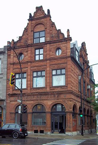 Bank of Montreal National Historic Site - Image: Banque de Montreal Notre Dame et des Seigneurs 02