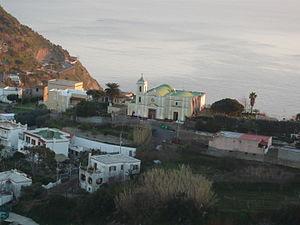 Barano d'Ischia - Image: Barano d'Ischia, scorcio con chiesa di San Giorgio