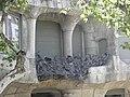 Barcelona - wrought iron balcony details Casa Mila - panoramio.jpg