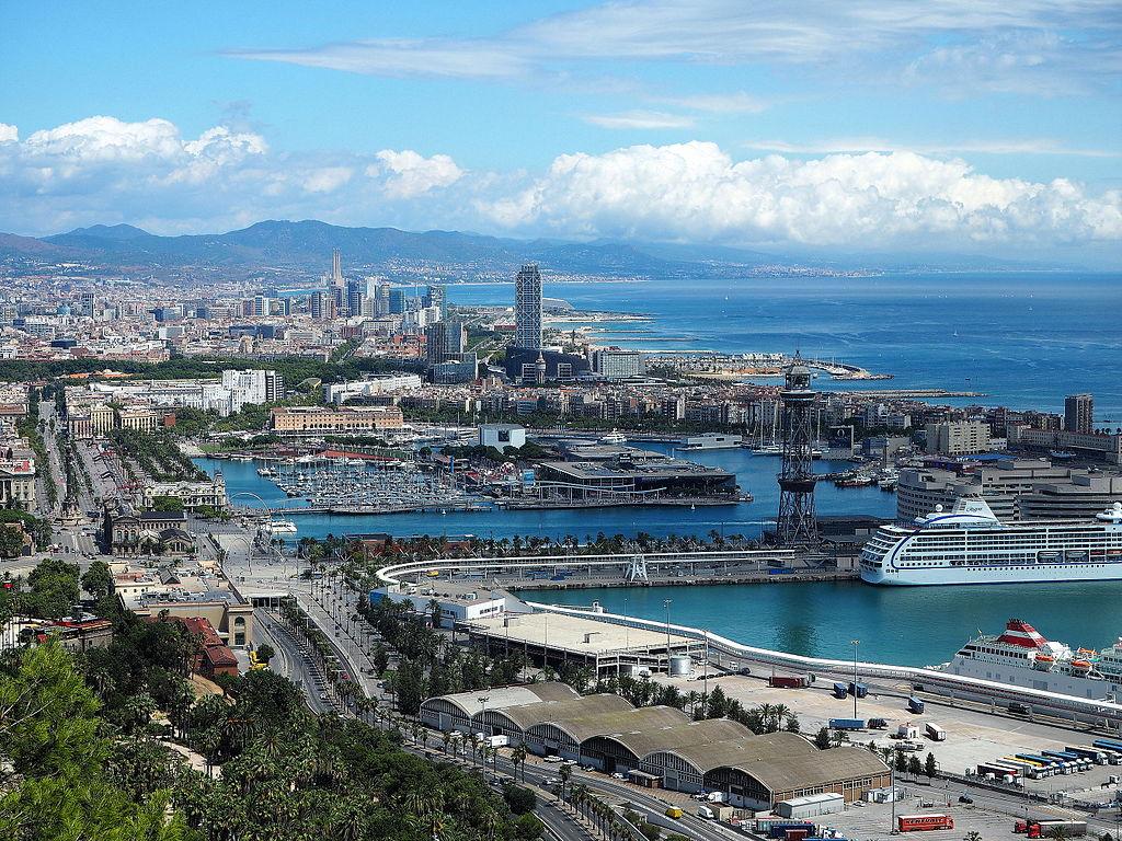 Vue depuis la colline de Montjuic à Barcelone - Photo de Terea Grau Ros
