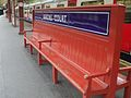 Barons Court stn bench.JPG