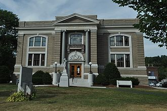 National Register of Historic Places listings in Washington County, Vermont - Image: Barre VT Aldrich Public Library