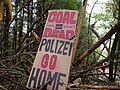 Barrier with protest-signs in the Hambach forest 13.jpg