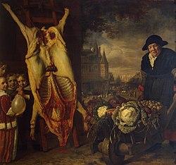 Bartholomeus van der Helst: Nieuwmarkt in Amsterdam