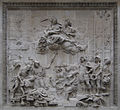 Bas Relief at the base of the Monument to the Great Fire of London.jpg