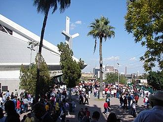 Basilica of Guadalupe, Monterrey - Image: Basilica de Guadalupe Monterrey 20