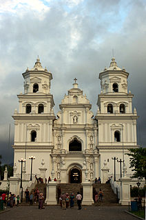 Esquipulas Place in Chiquimula Department, Guatemala