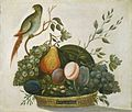Basket of Fruit with Parrot E11564.jpg