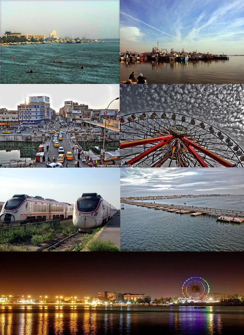 Basra city
