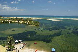 Tamil Eelam - Batticaloa Lagoon, an estuarine lagoon in Eastern province