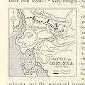 """Battle of Corunna from """"Illustrated Battles of the Nineteenth Century (By Archibald Forbes, Major Arthur Griffiths, and others.)"""" (p. 382, 1895) - British Library.jpg"""
