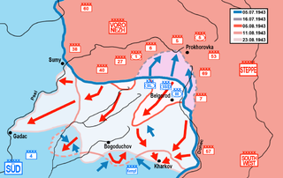 Belgorod-Kharkov Offensive Operation August 1943 Soviet strategic summer offensive