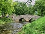 Vieux pont sur la Seille (Baume-les-Messieurs)
