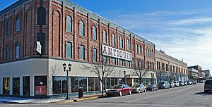 National Register of Historic Places listings in Bay County, Michigan - Image: Bay City Downtown Historic District Bay City MI A