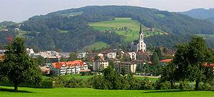 Kirchberg, St. Gallen - Kirchberg Bazenheid village