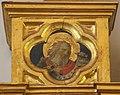 Beato angelico, pala strozzi della deposizione, con cuspidi e predella di lorenzo monaco, pilastrino sx 06.JPG