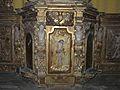 Beauregard-et-Bassac église Bassac tabernacle nord détail.JPG