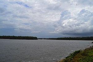 Chettuva Backwater - chattuva...beach and sky