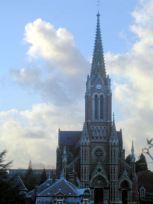 Beauval, Somme - The church