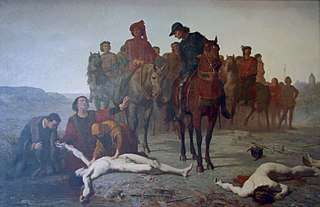 Charles the Bold found after the Battle of Nancy