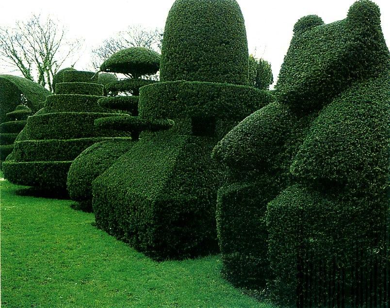 Beckley Park topiary garden