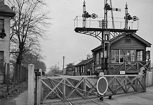 Beddington Lane railway station - Image: Beddington Lane Halt