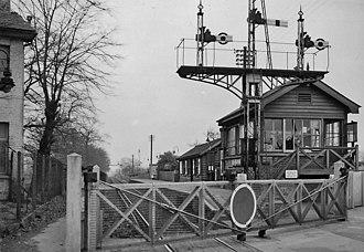Beddington Lane railway station - Image: Beddington Lane Halt