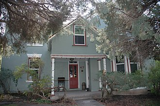National Register of Historic Places listings in Summit County, Utah - Image: Beech House Coalville Utah