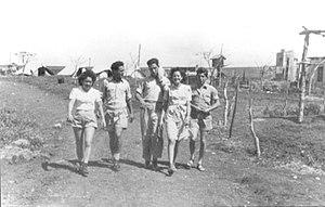 Beit HaShita - Palmach camp at Beit HaShita, 1947