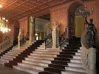 Theatro da Paz - The entrance hall