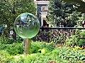 Bellagio garden crystal ball.JPG