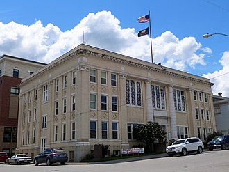 National Register of Historic Places listings in Benewah County, Idaho - Image: Benewah County Courthouse 2 St Maries Idaho