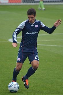 Benny Feilhaber of New England Revolution, 2011.jpg