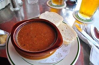 Bermudian cuisine - Bermuda Fish Chowder