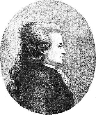 Jean-Jacques Duval d'Eprémesnil - Engraved portrait of Jean-Jacques Duval d'Eprémesnil