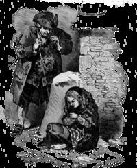 Bertall ill La Petite Fille et les allumettes