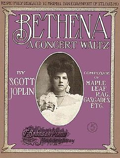 Bethena waltz by Scott Joplin