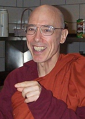 Bhikku Bodhi, an American Buddhist monk.