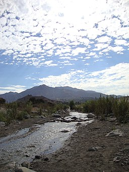Big Tujunga Canyon View of River and Tujunga.JPG