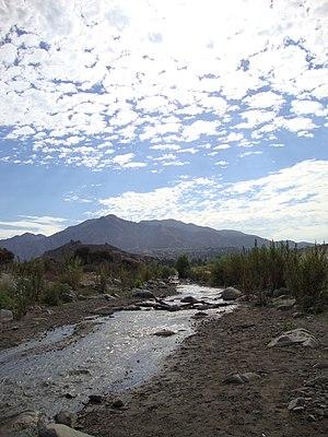 Big Tujunga Creek - The wash in lower Big Tujunga Canyon