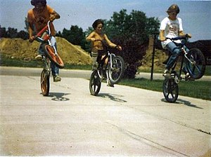 English: bmx bike summer