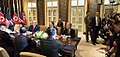 Bilateral meeting with respective delegations during the DPRK–USA Singapore Summit (3).jpg