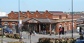 Birmingham Moor Street railway station Railway station in Birmingham, England