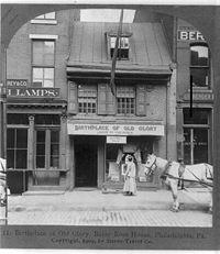 Birthplace of Old Glory Betsy Ross House Philadelphia Pa 1903.jpg