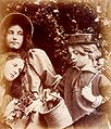 Blackberry Gathering, by Julia Margaret Cameron.jpg